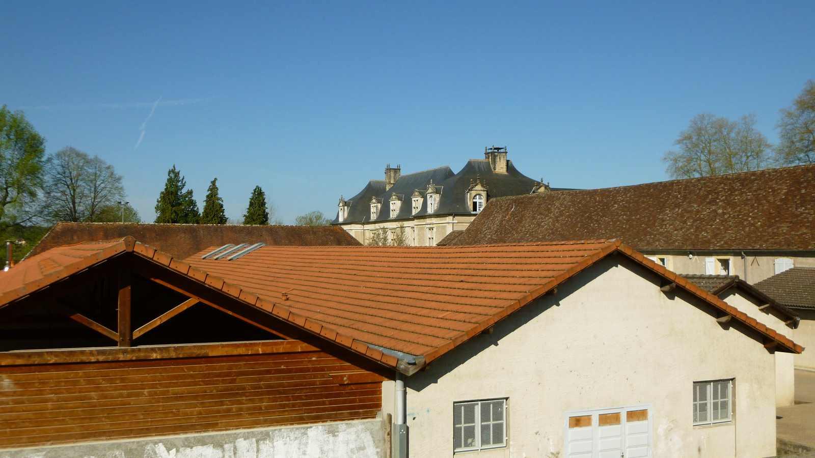 vue depuis l'église d'Audaux