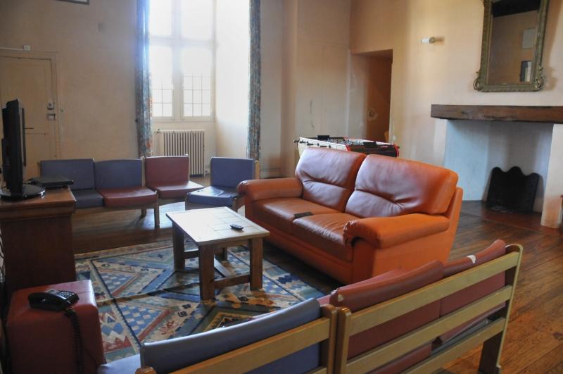 salle de détente d'un lieu de vie - château d'Audaux