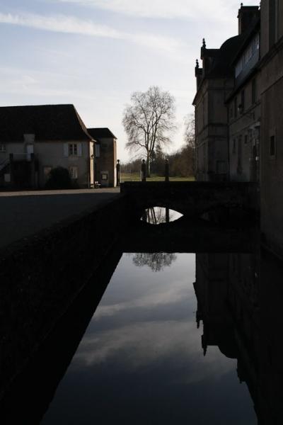 les douves du château d'Audaux