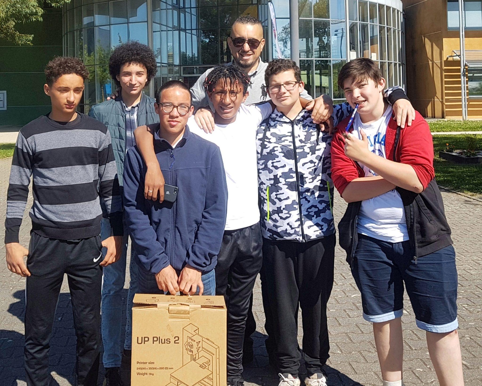 Apprentis d'Ateuil - Collège Sainte-Bernadette - Makerspace