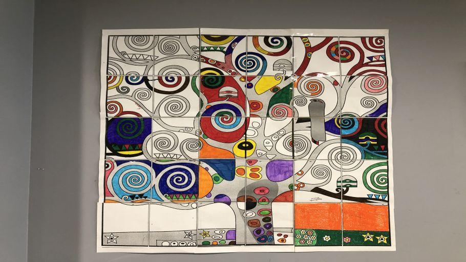 Arbre de vie de Gustav Klimt
