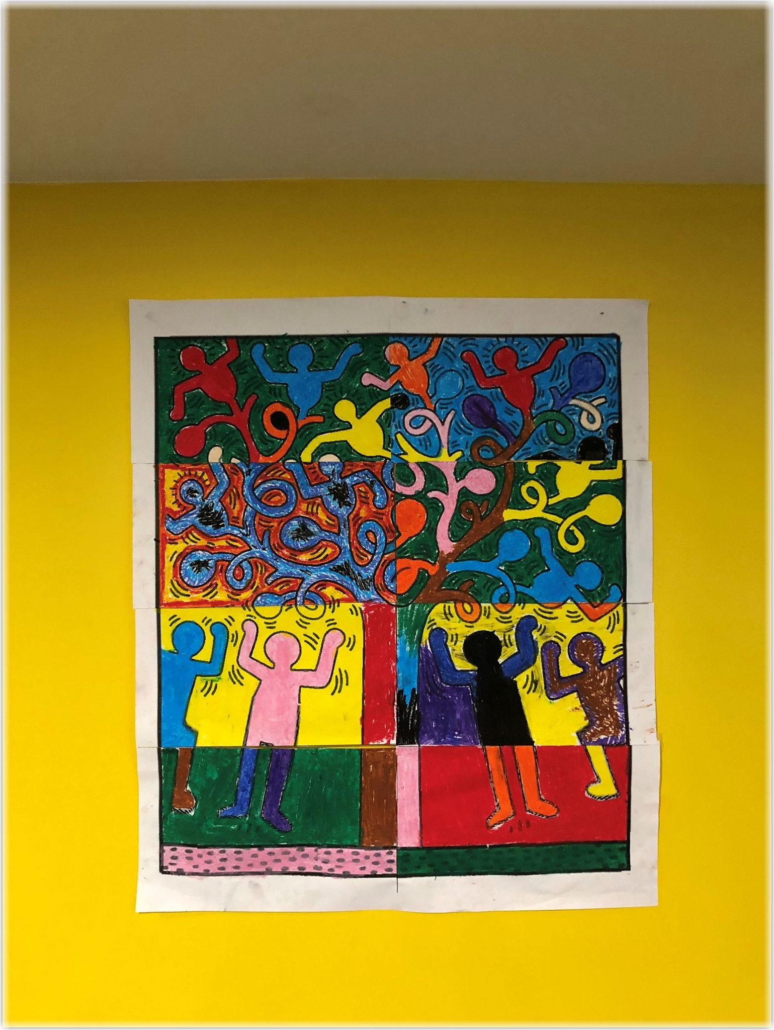 Arbre de Keith Haring