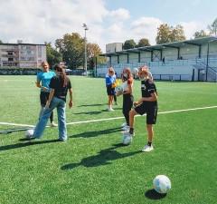 foot au stade des bleuets