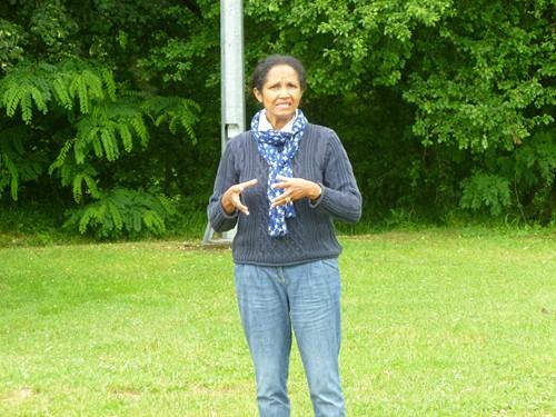 Mme Pradines - de la Direction de l'Activité au Siège de la Fondation