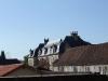 Le toit du château vu depuis l\'église