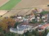 Vue du château et d\'une partie du village