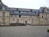 Le château vu depuis la cour St Joseph (cour du collège)